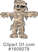 Mummy Clipart #1609278 by visekart