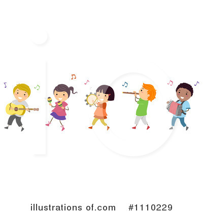 Music Clipart #1110229 - Illustration by BNP Design Studio