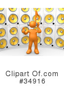 Music Clipart #34916 by 3poD