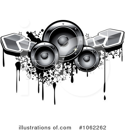 speakers clipart. royalty-free (rf) music speakers clipart illustration #1062262 by vector tradition sm