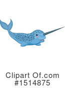 Narwhal Clipart #1514875 by Pushkin