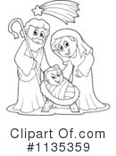 Nativity Clipart #1135359 by visekart