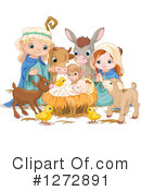 Nativity Clipart #1272891 by Pushkin