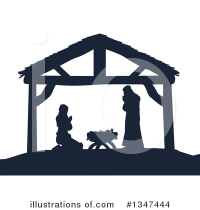 Nativity Clipart #1347444 by AtStockIllustration