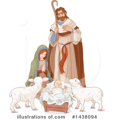 Nativity Clipart #1438094 by Pushkin