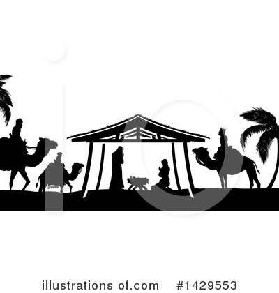 Nativity Clipart #1429553 by AtStockIllustration