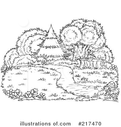 nature clipart 217470 illustration by alex bannykh. Black Bedroom Furniture Sets. Home Design Ideas