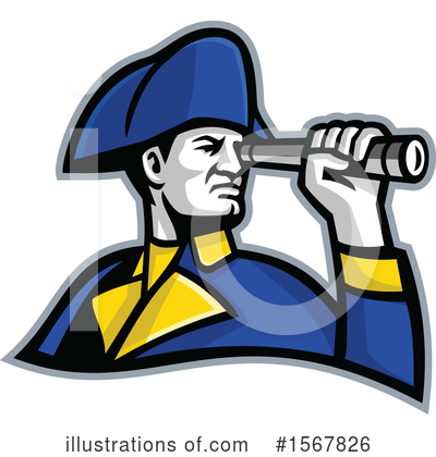 Royalty-Free (RF) Navy Clipart Illustration by patrimonio - Stock Sample #1567826