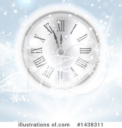 New Years Clipart #1438311 by KJ Pargeter