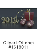 New Year Clipart #1618011 by KJ Pargeter