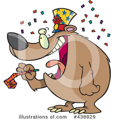 Bear Clipart #438829 by toonaday