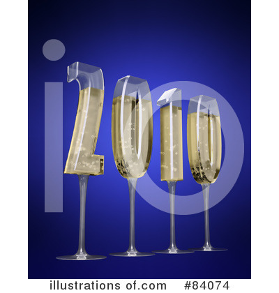 Royalty-Free (RF) New Year Clipart Illustration by Mopic - Stock Sample #84074