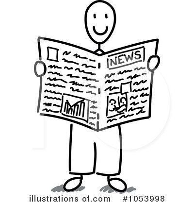 Newspaper Clipart 1053998