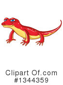 Newt Clipart #1157330 - Illustration by toonaday
