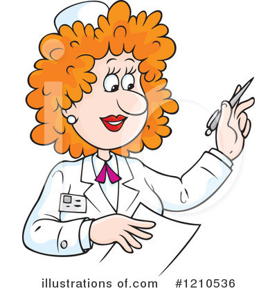 nurse clipart 1210536 illustration by alex bannykh