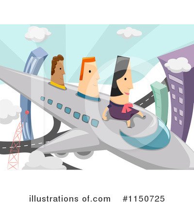 Airplane Clipart #1150725 by BNP Design Studio