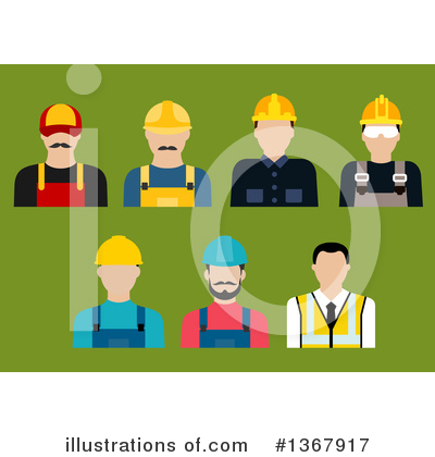 Electrician Clipart #1367917 by Vector Tradition SM