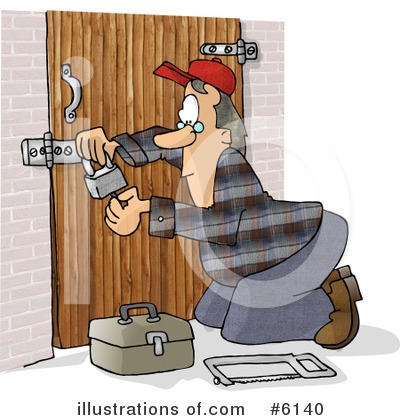 Locksmith Clipart #6140 by djart