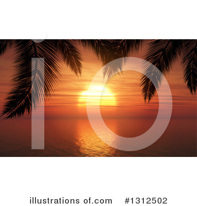 Beach Clipart #1312502 by KJ Pargeter