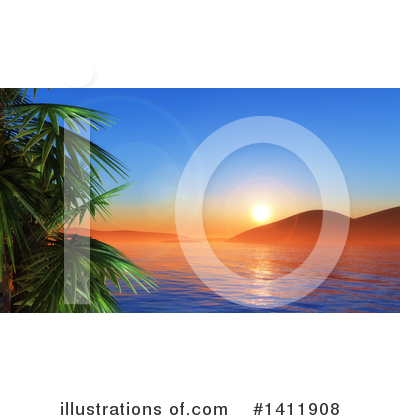 Royalty-Free (RF) Ocean Clipart Illustration by KJ Pargeter - Stock Sample #1411908