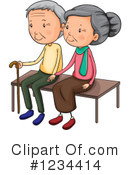 Old Couple Clipart #1234414 by Graphics RF