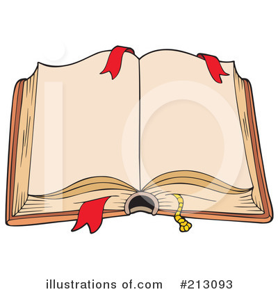 Open Book Clipart #213093 by visekart