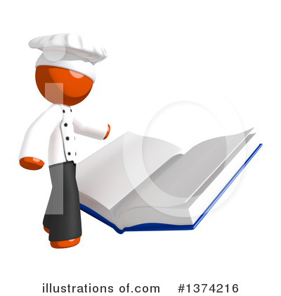 Cook Book Clipart #1374216 by Leo Blanchette