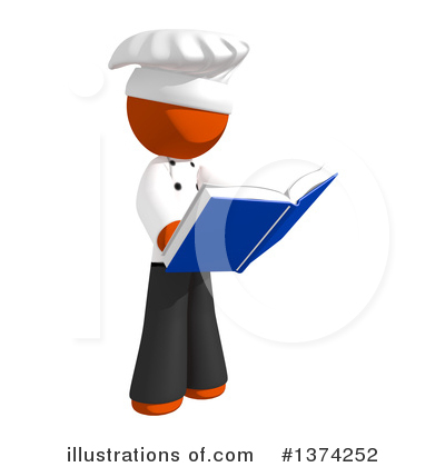 Cook Book Clipart #1374252 by Leo Blanchette