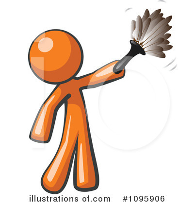 Cleaning Clipart #1095906 by Leo Blanchette