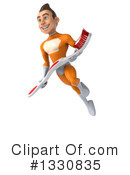Orange Super Hero Clipart #1330835 by Julos