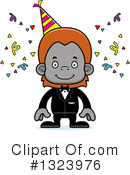 Orangutan Clipart #1323976 by Cory Thoman
