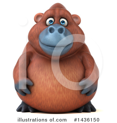 Monkey Clipart #1436150 by Julos
