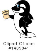 Orca Mascot Clipart #1439841 by Toons4Biz