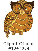 Owl Clipart #1347004 by Vector Tradition SM