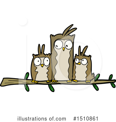 Owl Clipart #1510861 by lineartestpilot