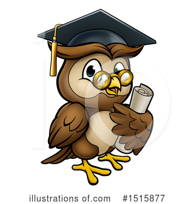Owl Clipart #1515877 by AtStockIllustration