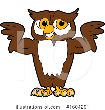 Royalty-Free (RF) Owl Clipart Illustration by Toons4Biz - Stock Sample #1604261