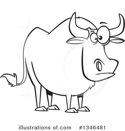 Clip Art Ox Clipart ox clipart 1346481 illustration by ron leishman royalty free rf leishman