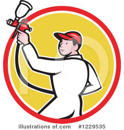 Painter Clipart #1229535 by patrimonio