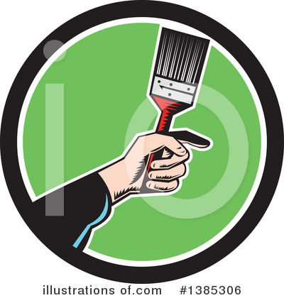 Painter Clipart #1385306 by patrimonio