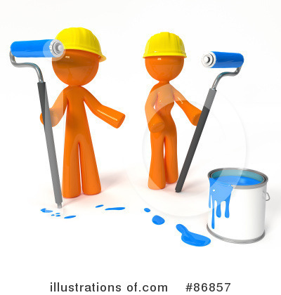Orange Man Clipart #86857 by Leo Blanchette