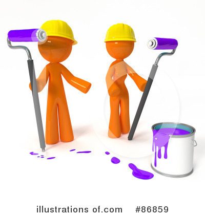 Orange Man Clipart #86859 by Leo Blanchette
