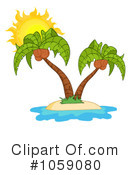Palm Tree Clipart #1059080 by Hit Toon