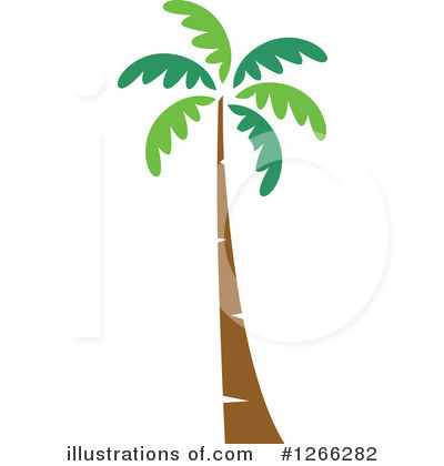 Palm Trees Clipart #1266282 by BNP Design Studio