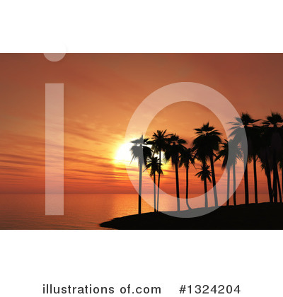 Beach Clipart #1324204 by KJ Pargeter