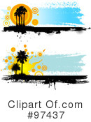 Palm Trees Clipart #97437 by KJ Pargeter
