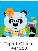 Panda Clipart #41229 by Dennis Holmes Designs