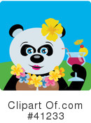 Panda Clipart #41233 by Dennis Holmes Designs