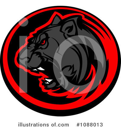 Panther Clipart #1088013 by Chromaco