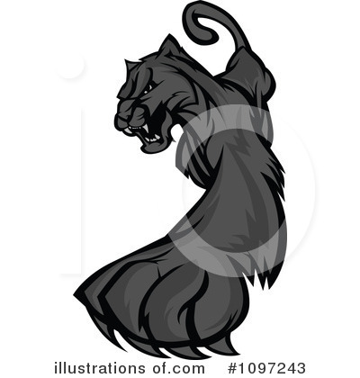 Panther Clipart #1097243 by Chromaco